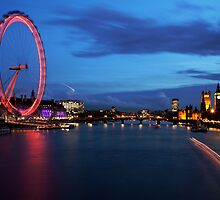 London Eye by caffeinepowered