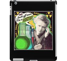 Popular Science: M. Curie (English) iPad Case/Skin