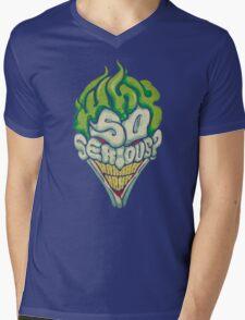 Why So Serious? - Joker Mens V-Neck T-Shirt
