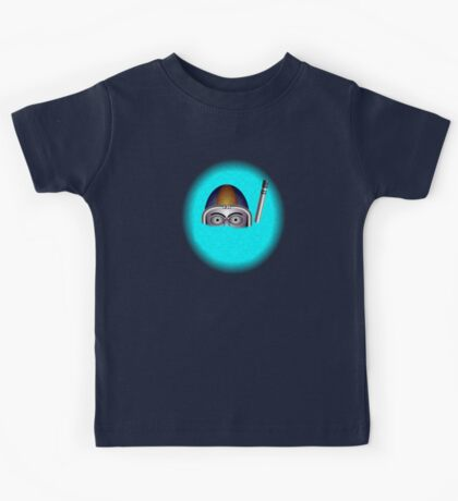 Diver by rafi talby Kids Tee