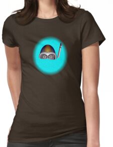 Diver by rafi talby Womens Fitted T-Shirt