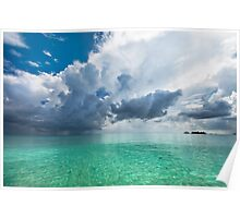 Get Lost. Maldivian Scenery Poster