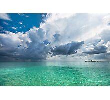 Get Lost. Maldivian Scenery Photographic Print