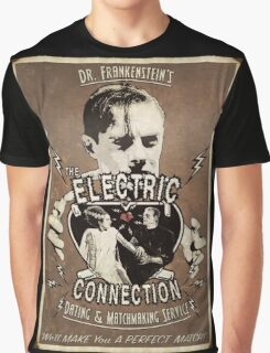 The Electric Connection (Old Postcard ) Graphic T-Shirt