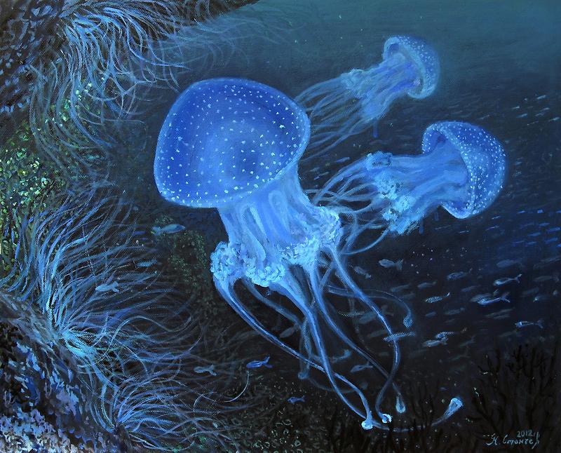 Dance Under Water by kirilart