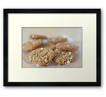 Anzac Biscuits Framed Print