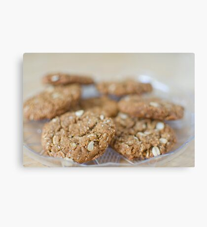 Anzac Biscuits Canvas Print