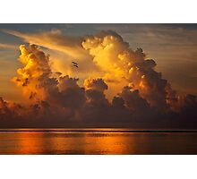 Rising Clouds Photographic Print