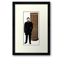 Doctor Who - The Master and TARDIS Framed Print