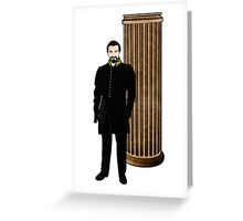 Doctor Who - The Master and TARDIS Greeting Card