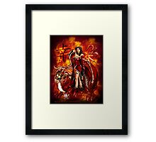 Feeling Lucky Framed Print