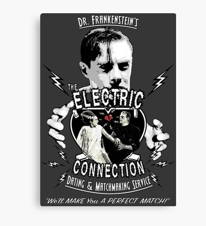 The Electric Connection Canvas Print