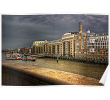 Butler's Wharf Poster