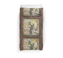 Popular Science: Marie Curie (distressed) Duvet Cover