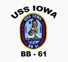 USS Iowa (BB-61) Crest Unisex T-Shirt
