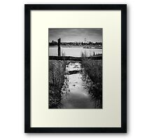 "The ""T"" Framed Print"