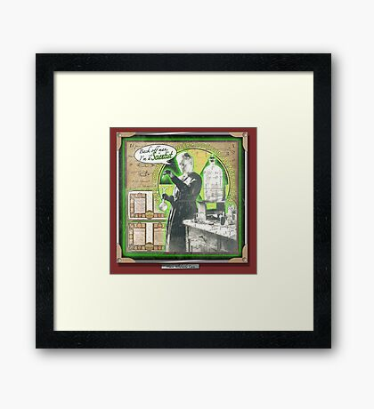 Popular Science: Marie Curie Framed Print