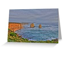 2 of the 12 apostles Greeting Card