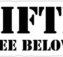 #Gifted (see below) Sticker
