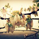 Fairy Blessings and Blueberry Blossoms by Lea  Weikert