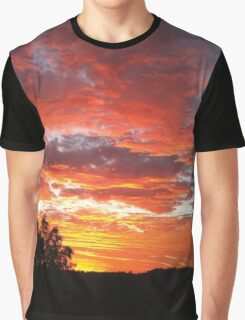 Colourful sunset Graphic T-Shirt