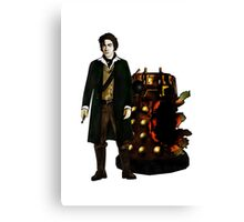 The War Doctor and Dalek Canvas Print