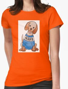 Nard Dog Womens Fitted T-Shirt
