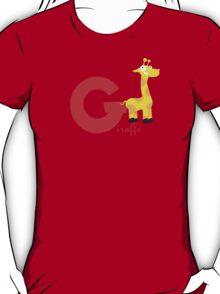 g for giraffe T-Shirt