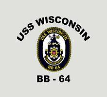 USS Wisconsin  (BB-64) Crest Unisex T-Shirt