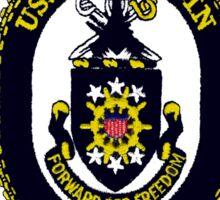 USS Wisconsin  (BB-64) Crest Sticker