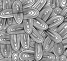 doodle patterned by aticnomar