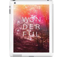 Wonderful outdoors iPad Case/Skin