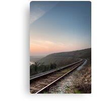 The Railway Line Canvas Print