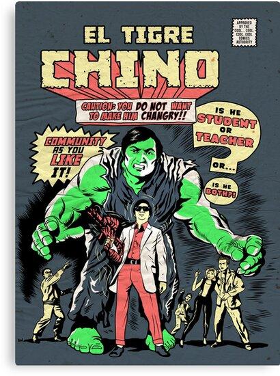 El Tigre Chino by ninjaink