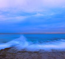 Wave at Dusk by Jill Fisher