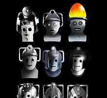 Cyberman Evolution by Chris Singley