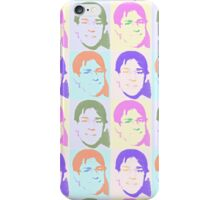 Multi Talking Head Pattern iPhone Case/Skin