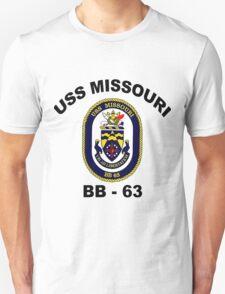 USS Missouri (BB-63) Crest T-Shirt