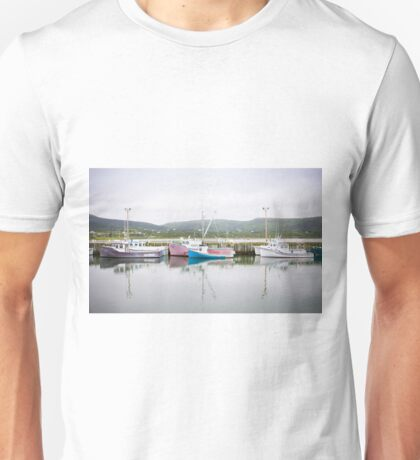 Fishing Boats, Cape Breton Island Unisex T-Shirt