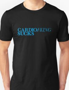 Cardio Sucks - Cyan T-Shirt