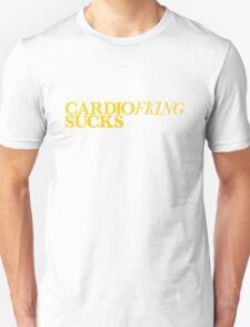 Cardio Sucks - Yellow T-Shirt