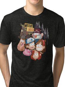 Gravity Falls (Geometric) Tri-blend T-Shirt