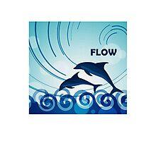 Dolphin Flow  Photographic Print