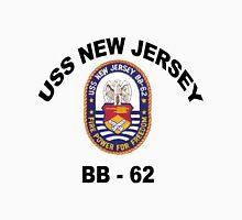 USS New Jersey (BB-62) Crest Unisex T-Shirt