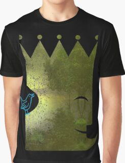 The Emperor and the Nightingale Graphic T-Shirt