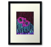Blooming Abstractions Framed Print