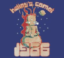 Halley's Comet 1986 - Vintage by Paul Webster