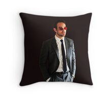 The Devil of Hell's Kitchen Throw Pillow