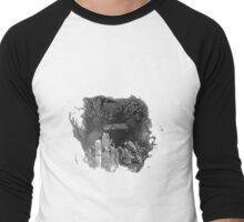 Flaming Bands.. Men's Baseball ¾ T-Shirt