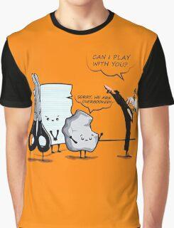Stone, paper and scissor Graphic T-Shirt